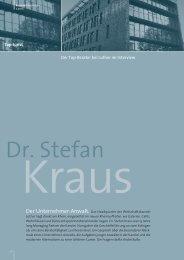 Interview mit Dr. Stefan Kraus als PDF ansehen - Karrierefuehrer.de