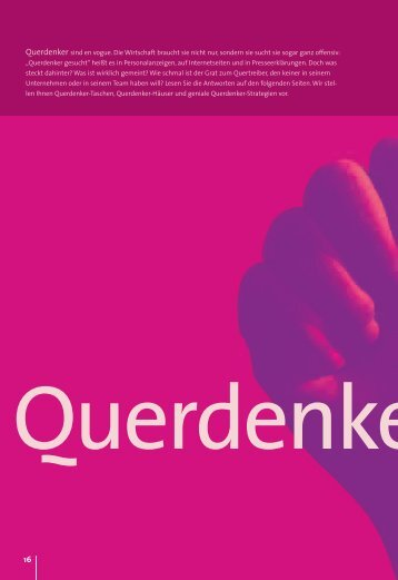 Weiterlesen: Interview mit dem Querdenker Otmar Ehrl unter