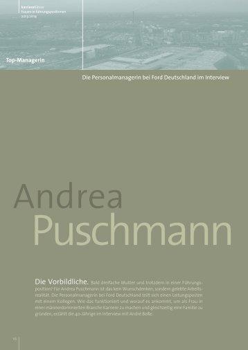 Interview mit Andrea Puschmann als PDF ansehen - Karrierefuehrer ...