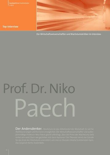 Interview mit Prof. Dr. Niko Paech als PDF ansehen - Karrierefuehrer ...