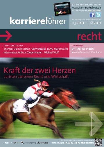 Download karriereführer recht 1.2011 (ca. 7 MB) - Karrierefuehrer.de