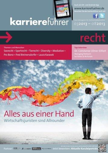 Download karriereführer recht 1.2013 (ca. 17 MB) - Karrierefuehrer.de