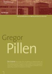 Interview mit Gregor Pillen als PDF ansehen - Karrierefuehrer.de