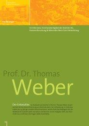 Interview mit Prof. Dr. Thomas Weber als PDF ansehen