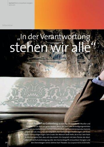 Enoch Freiherr zu Guttenberg - Karrierefuehrer.de