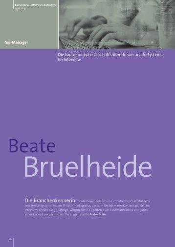 Interview mit Beate Bruelheide als PDF ansehen - Karrierefuehrer.de