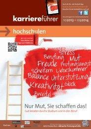 Download karriereführer hochschulen 2013.2014 (ca. 8 MB)