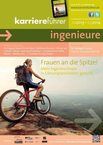 Download karriereführer ingenieure 2.2013 - Karrierefuehrer.de