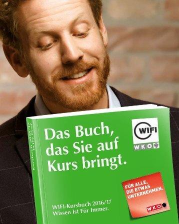 WIFI Tirol Kursbuch 2016/17