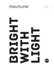 Multiline Licht | Hauptkatalog 2016