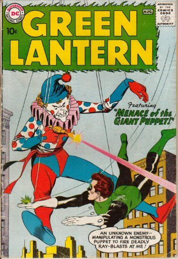 Green Lantern Vol 2 Issue 1