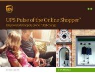 UPS Pulse of the Online Shopper