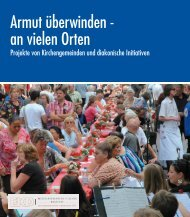Armut überwinden - Evangelische Kirche in Deutschland