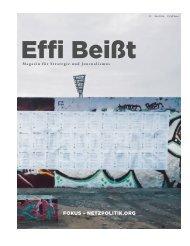 Effi Beißt - Magazin für Strategie und Journalismus