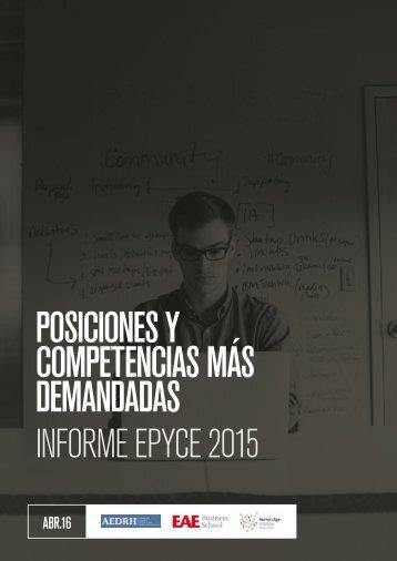 POSICIONES Y COMPETENCIAS MÁS DEMANDADAS