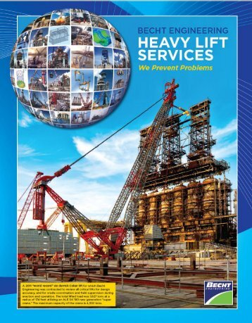 Heavy Lift Brochure