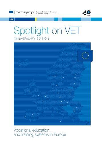 Spotlight on VET