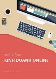Khoi dong Kinh doanh Online