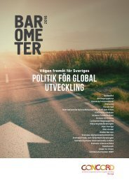 Politik för global utveckling