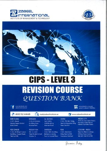 CIPS AC1- AC5 revision