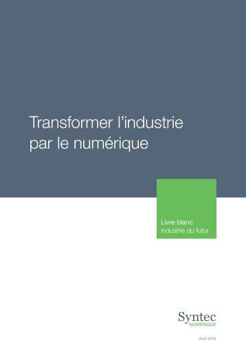 Transformer l'industrie par le numérique