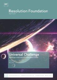 Universal Challenge