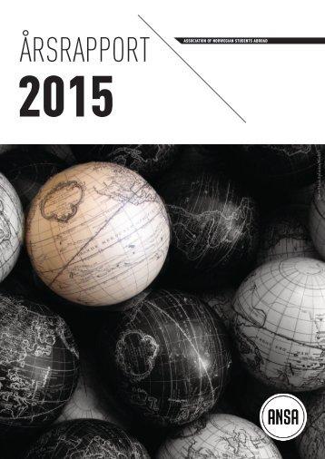 ANSA Årsrapport 2015