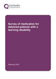 Survey of medication for detained patients with a learning disability