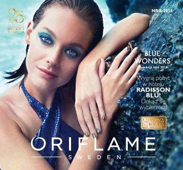 Oriflame Katalog nr 8 - 2016