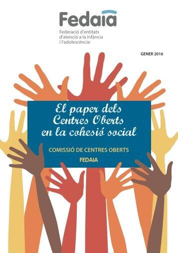 El paper dels Centres Oberts en la cohesió social