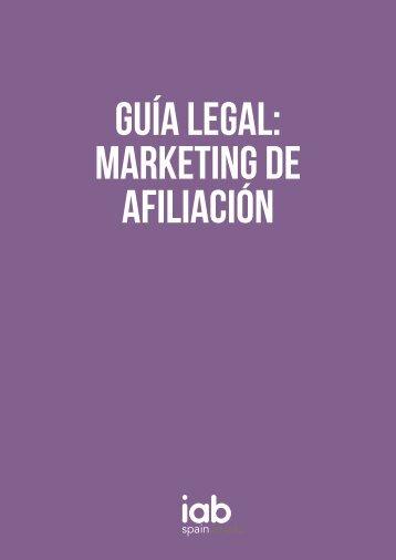 GUÍA LEGAL Marketing de afiliación