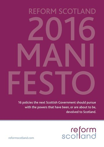 2016 MANI FESTO