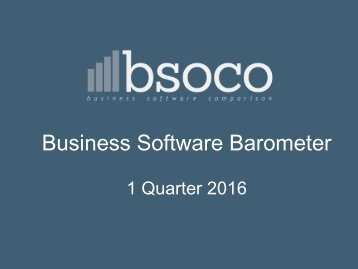 Business Software Barometer