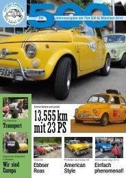 Fiat 500 IG Magazin 2014