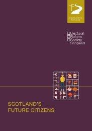 SCOTLAND'S FUTURE CITIZENS