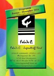 Fo(u)r C Programm 2016