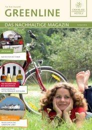 GreenLine Magazin - Sommer 2016