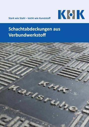 KHK-Gesamt-Schachtabdeckungen Katalog-2016