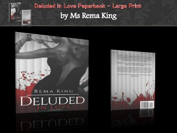 Deluded in Love Paperback – Large Print
