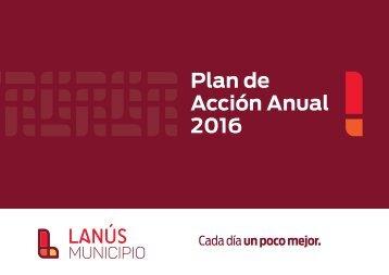 Plan de Acción Anual 2016
