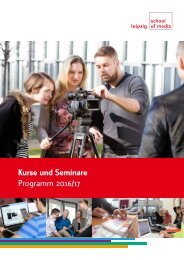 Kurse und Seminare Programm 2016/17