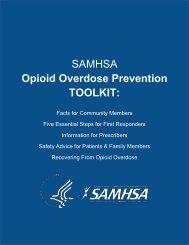 Opioid Overdose Prevention TOOLKIT