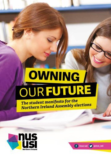 manifesto Northern Assembly elections