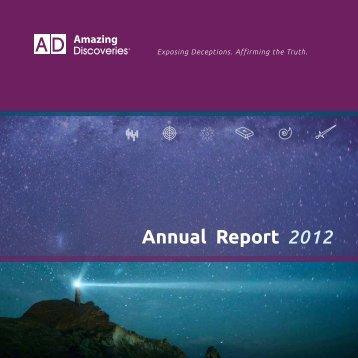 AD Annual Report 2012