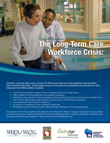 The Long-Term Care Workforce Crisis
