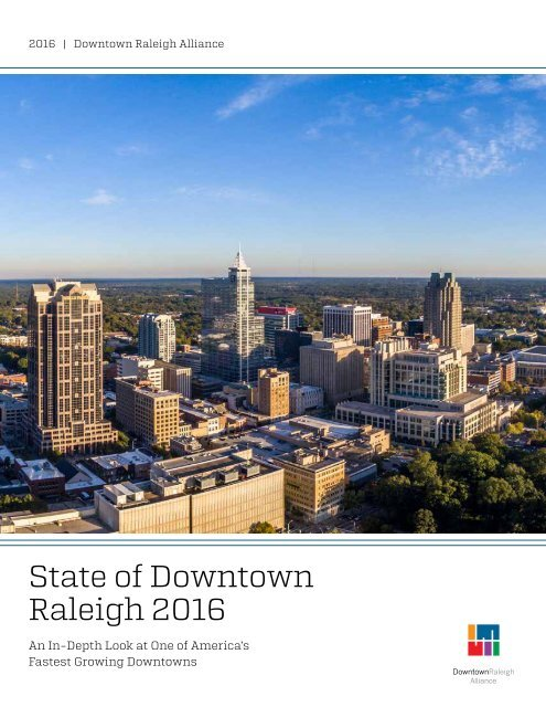State of Downtown Raleigh 2016