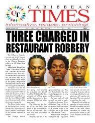 Caribbean Times 1st issue - Tuesday 3rd May 2016