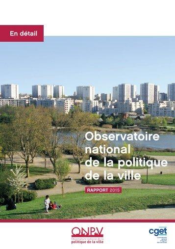 Observatoire national de la politique de la ville