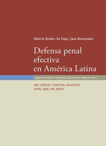 Defensa penal efectiva en América Latina