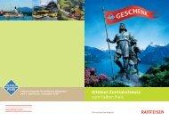 Erlebnis Zentralschweiz zum halben Preis. - Soliswiss